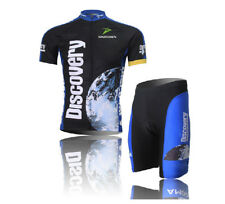 Discovery Men's Cycling Clothing Bicycle Jerseys + (Bibs) Shorts Cycling apparel