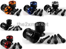 8mm Carbon Fiber Swingarm Sliders Spools For Honda CBR600RR CBR954RR CBR400RR