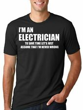 Electrician T-Shirt Gift For Electrician Tee Shirt Profession Occupation Tee
