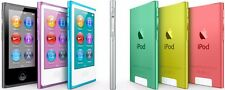 Apple iPod Nano 7th Gen 16GB MP3 Player Blue Yellow Silver Green Space Gray