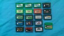 Juegos Game Boy Advance (Pokemon , Mario Kart , Wario , Donkey , Sonic  .. )
