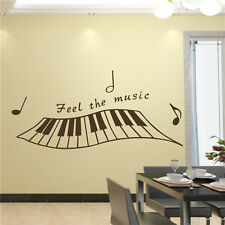Vinyl Art Piano Keyboard Wall Sticker Home Decor DIY Decals  With 13 Colors