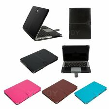 Luxury PU Leather Laptop Sleeve Bag Case for MacBook Air 11 13 Pro Retina 13 15""