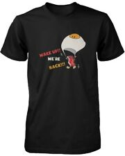 Wake Up! Bacon and Egg are Back for Breakfast Funny Men's T-shirt - Graphic Tee