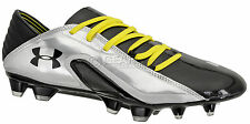 New $190 Under Armour Blur Carbon III FG Mens Soccer Cleats - Black & Silver