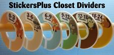 Custom Closet Clothes Dividers Organizers Baby Boy Toddler Woodland Animal II