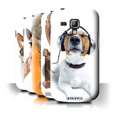 STUFF4 Back Case/Cover/Skin for Samsung Galaxy Trend Plus/S7580/Funny Animals