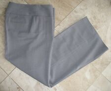 NWT ADRIENNE VITTADINI Women's Two Way Stretch Straight Wide Leg Dress Pants 10