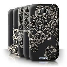 STUFF4 Back Case/Cover/Skin for HTC Sensation XL/G21/Henna Tattoo