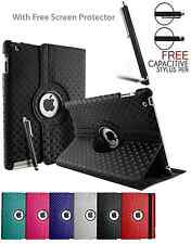 3D Diamond 360° Giratoria Soporte Plegable Funda para Apple iPad 2★3★4★5★6 mini