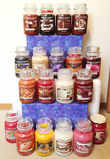 Yankee Candles 22oz. Jar Candles - You Pick! HTF & RARE SCENTS!