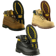 Mens Caterpillar Holton Steel Toe Cap Safety Boots CAT 6