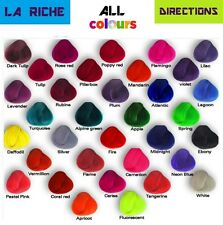 LA RICHE DIRECTIONS SEMI-PERMANENT HAIR DYE COLOUR SHADE  - SPECIAL PRICE OFFER