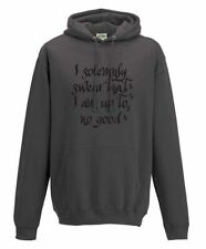 Harry Potter I solemnly swear that I am up to no good Marauders map adult hoodie