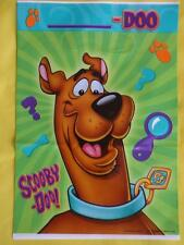 SCOOBY DOO  PARTY LOOT BAGS - Various quantities CHILDREN'S FAVOURS BIRTHDAY