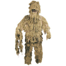 Ghillie Camouflage Camo Suit Set Hunting Fishing Bird Watching Sand Desert M-Xxl