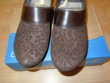NEW IN BOX - WOMEN'S DANSKO PRIMA FLORAL LEATHER SHOES-BROWN- 37 OR 38  $89.95