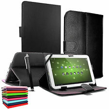 "NUOVO Universale in Pelle Stand Custodia COVER 9,7 "" - 10.1"" Pollici Tab Android Tablet PC"