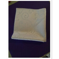 "12 Pcs Polyester Restaurant Home Dinner Cloth Wedding Napkins 17.7"" Inch Square"