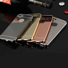 Aluminum Luxury Metal Bumper&Ultrathin 24K Golden Back Cover For iPhone5/5s
