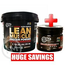 BSC NITROVOL LEAN MUSCLE MASS GAINER 3kg + BSC CREATINE MONOHYDRATE 400g