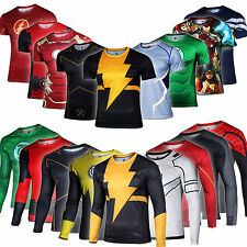 Marvel Superhero Costume Cyclisme T-shirts Vélo Sports Wear Haut Jersey Chemises