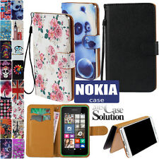 New Flip Wallet Leather Case Cover Card Slot for Nokia Lumia Mobile Phones