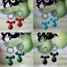 HOT High Quality Fake Turquoise Tibetan allergy free Charming Earrings