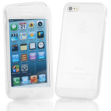 FLIP SOFT Crystal Silicone CASE COVER FOR iPHONE 5 5S 5C 4 4S 6+SCREEN PROTECTOR