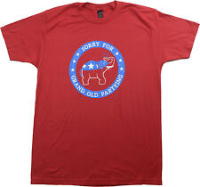 Sorry for Grand Old Partying | Conservative Republican GOP Humor Unisex T-shirt