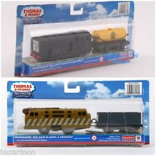 FISHER PRICE  TRACKMASTER THOMAS DIESEL 10 + TROUBLESOME TRUCK MOTORIZED TRAIN