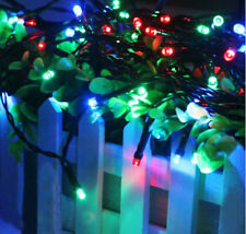 100led / 200 led Solar String Fairy Light Changing Action for Garden Xmas Party