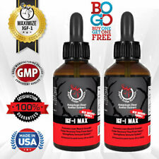 Deer Antler Velvet Extract Spray - IGF-1 | 200mgs, 3 Pack |  43X Concentration!