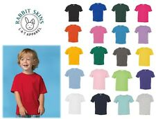 Size 2 - 5/6 Rabbit Skins Fine Jersey Toddler T-Shirt - 3321