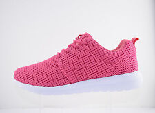 New Ladies Running Two-Tone Casual Lace Up Roshe Lightweight Gym Sports Trainers