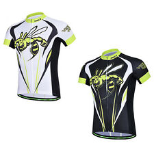 Violence Hornet Short Sleeve Cycling Jerseys Men's Bicycle Biking Clothing Top