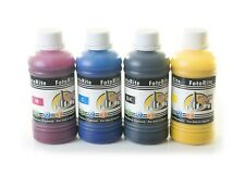 Pigment ink ciss ink refill 4 x 250ml fits with Epson printers bulk refill ink
