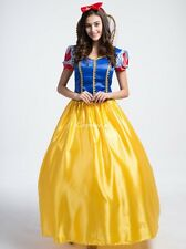 Snow White Princess Cosplay Halloween Xmas Party Costume Fancy Dress Adult Lady