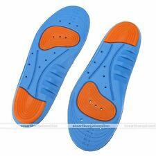 Rare 1 Pair Adjustable Gel Cushion Running Arch Insert Sport Shoe Insoles