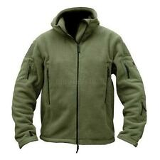 Outdoor Men's Warm Winter Fleece Hoody Coat Tactical Military Jacket Outwear U46
