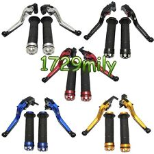 Extendable Folding Brake Clutch Levers Hand Grips for  Yamaha YZF R6 R1 FZ6R XJR