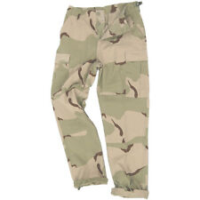 Teesar Tactical Mens BDU Uniform Trousers Cotton Army Pants 3-Colour Desert Camo