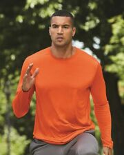 Alo Sport Performance Long Sleeve T-Shirt M3009 XS-3XL Moisture Wicking Dri-Fit
