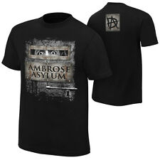 "WWE DEAN AMBROSE ""AMBROSE ASYLUM"" SPECIAL EDITION OFFICIAL T-SHIRT NEW ALL SIZES"
