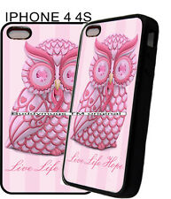 For Apple IPhone 4s 5s 6 7 Pink Womens Breast Cancer Ribbon Phone Case Cover 11