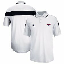 Atlanta Hawks ADIDAS CLIMAlite Performance (White) Sideline Polo Men's
