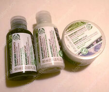 2 or 3pc the body shop rainforest shampoo conditioner hair butter travel size