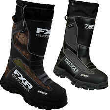 FXR Racing Excursion Mens Snowboard Skiing Sled Snowmobile Boots