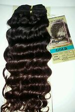 "100 % HUMAN HAIR TANGLE FREE/EUROPEAN DEEP WEAVING/10""/ CURLY/HOLIDAY MAGIC/GOLD"
