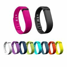 10 PCS Large/Small Replacement Wrist Band Wristbands With Clasps for Fitbit Flex